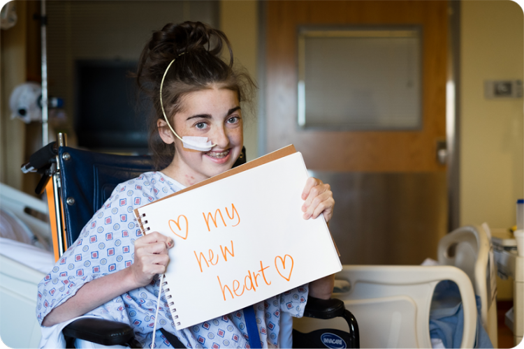 Taylor underwent heart transplant surgery on her 16th birthday. Her home is hundreds of miles away in Mississippi, so her family will celebrate Thanksgiving from the Cardiac Stepdown Unit this Thanksgiving.