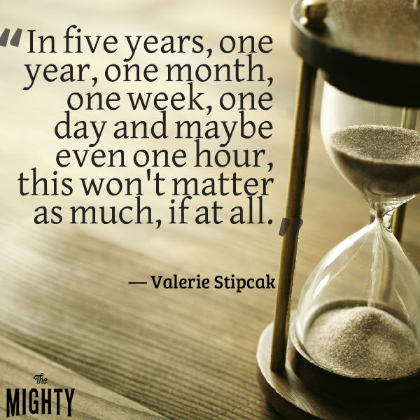 """""""In five years, one year, one month, one week, one day and maybe even one hour, this won't matter as much, if at all."""""""