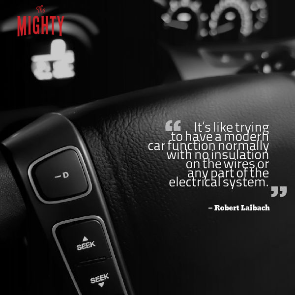 """It's like trying to have a modern car function normally with no insulation on the wires or any part of the electrical system."""