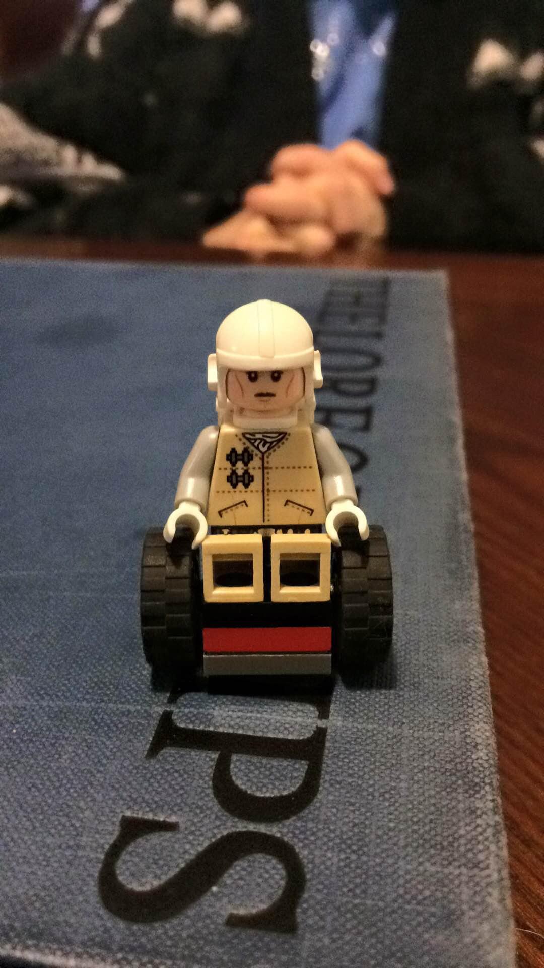 lego in wheelchair