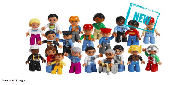 LEGO figurines.