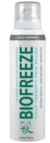 biofreeze pain spray