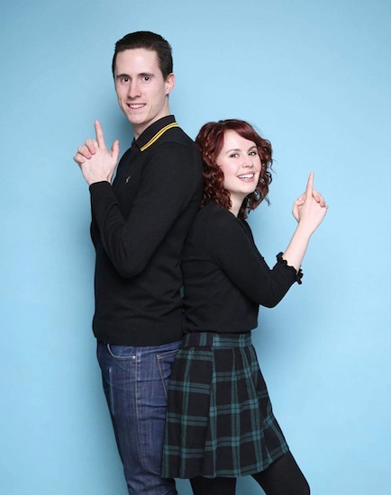 My boyfriend, Spencer, and I doing the Lethal Weapon pose. He is also my best friend and has been really supportive through the new adaptions we have both had to make.