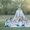11 Children with Down syndrome pose for a photo