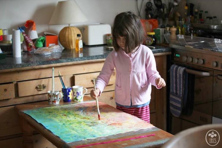 Iris Grace Carter-Johnson painting