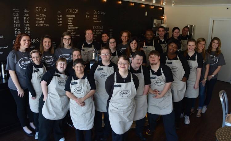The team behind Beau's Coffee