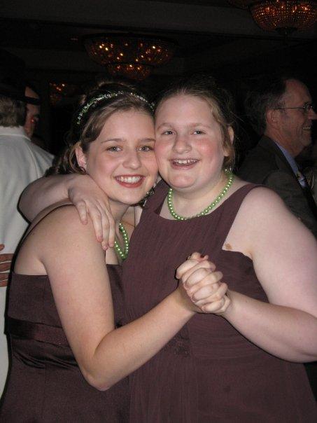 Christina and Emily