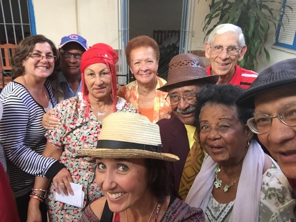 Heidi Siefkas With Friends at the Santa Clara Cuba