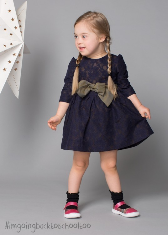 Photo of Cora in the Livie & Luca ad campaign