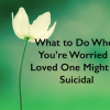 "A meme that says, ""What to Do When You're worried a Loved One Might Be Suicidal."""