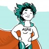 Asperger's comic superhero