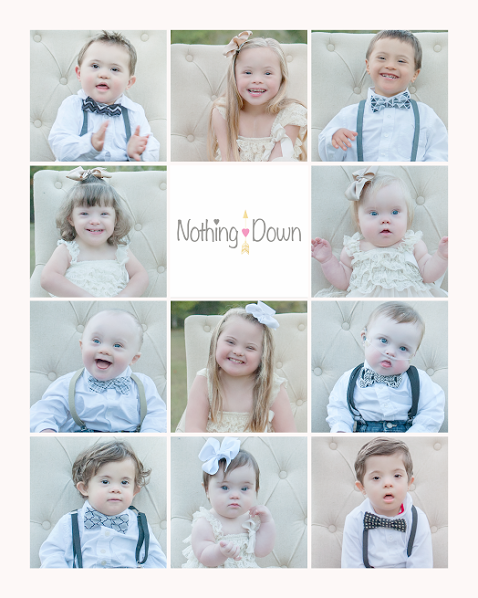 Promotional image for Nothing Down featuring children with Down syndrome