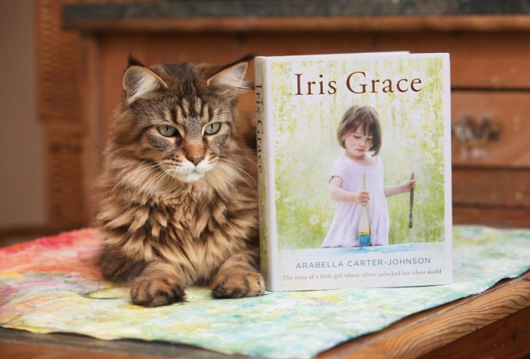 Thula, Iris Grace Carter-Johnson's therapy cat