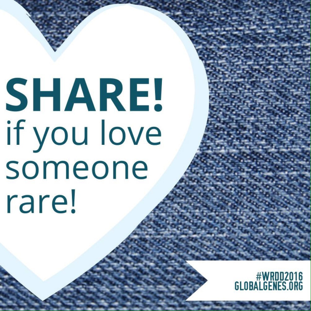 share if you love someone rare graphic