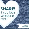rare disease share heart graphic