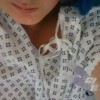 woman's selfie in the hospital