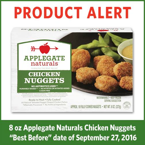 photo of applegate chicken nuggets