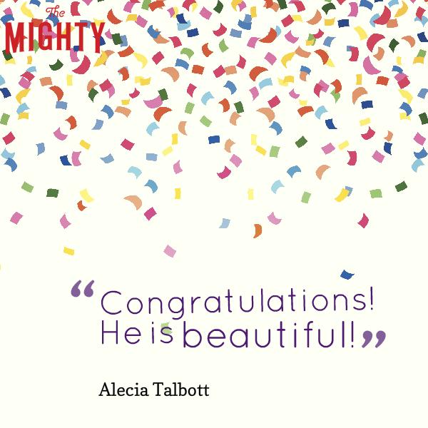 Congratulations! He is beautiful!