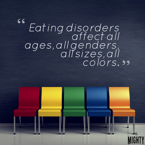 Image for eating disorder myths post