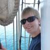 lottie on a boat