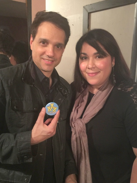 Actor Ralph Macchio with Venessa Diaz.