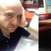 on left: chili's manager, on right: empty table
