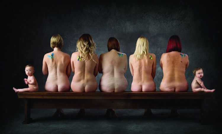 Babies and Midwives Pose for Miracle in Progress' Calendar