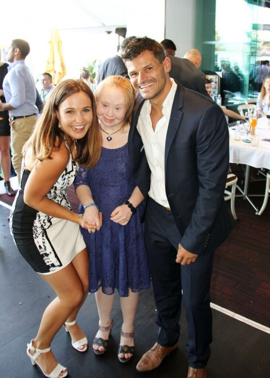 Madeline Stuart at I Can I Will Australia charity event