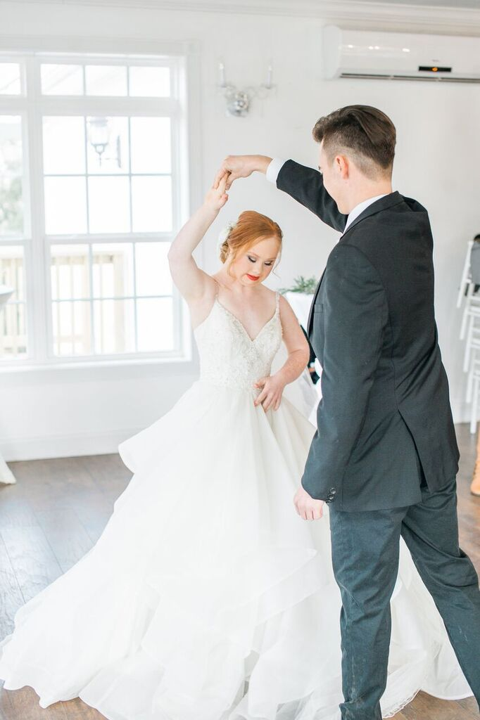 madeline stuart dancing with groom