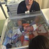 Baby Kaleb in the incubator