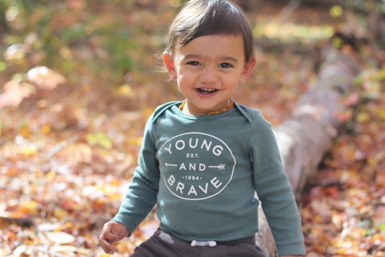 Ali Chandra's son, Ethan