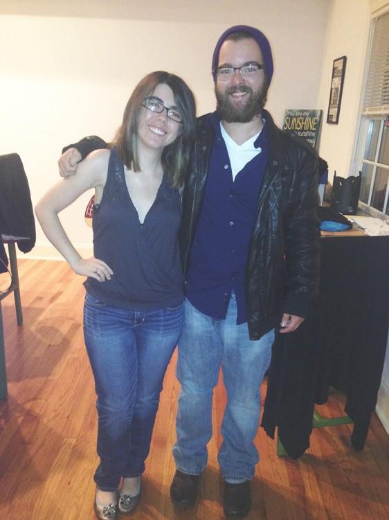 Talyah and her boyfriend