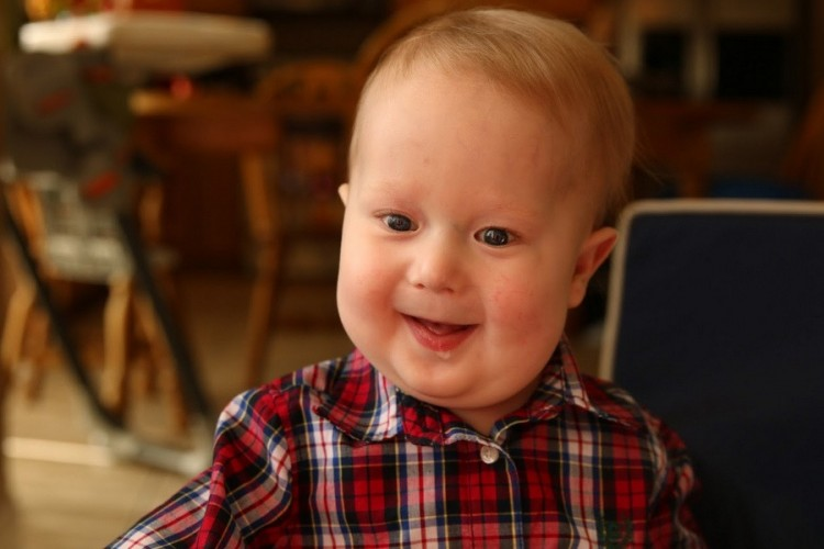 Corin Chapman's son, Max