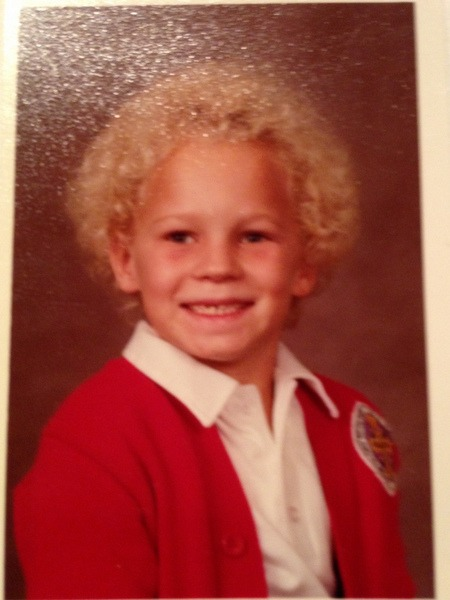 Mighty contributor, Jason Freeman, when he was in third grade.