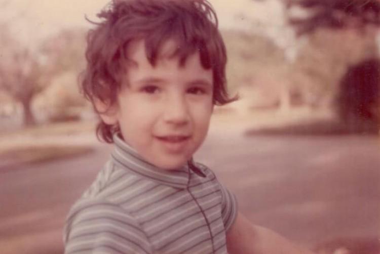 Julia when she was a child.