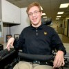 Justin Herbst - young man with cerebral palsy
