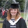 Kate Delaney graduating from college