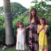 Dyane and her daughters