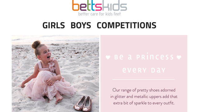 emily in bettskids ad, in ballerina outfit