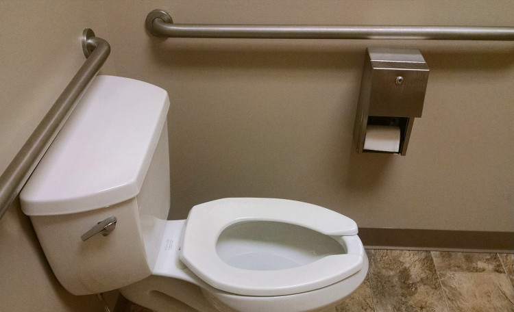 Handicap Bathroom Video On Facebook don't use the accessible public bathroom unless you have a