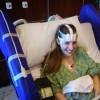 woman getting EEG