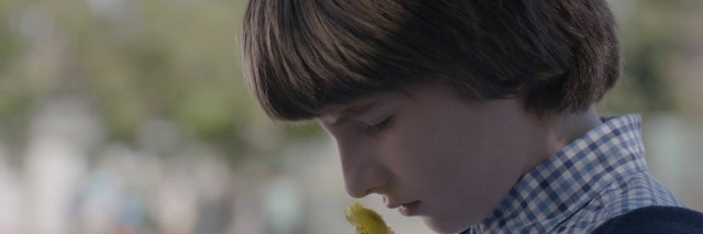 Julian Feder as Po in the upcoming movie about a boy with autism and his newly widowed father.