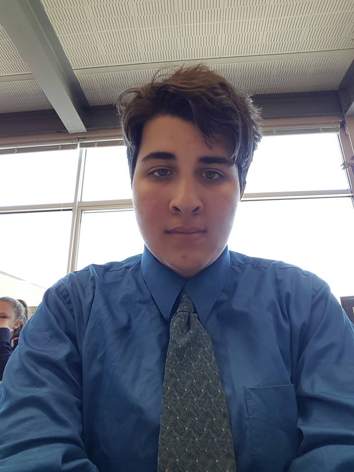 a selfie of abby