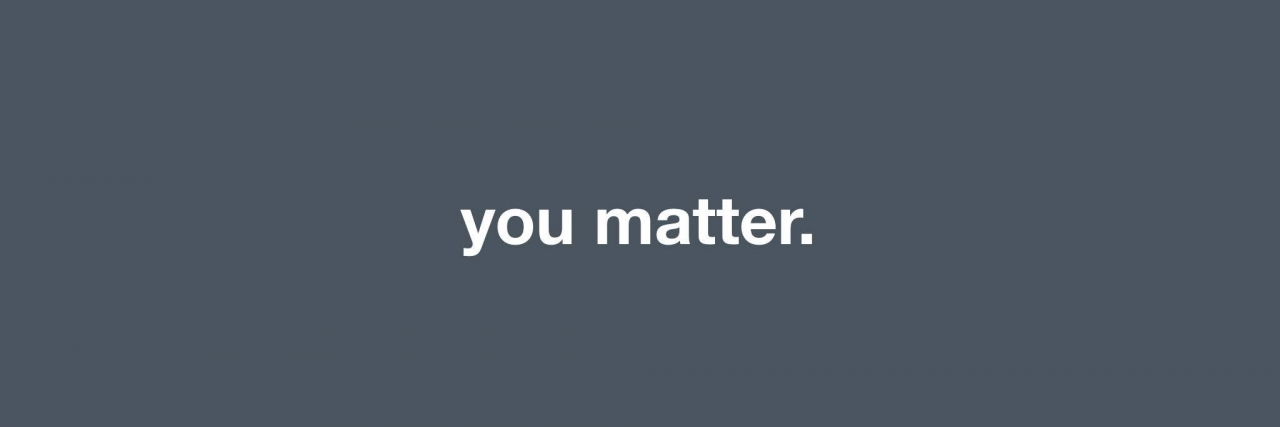 meme that says you matter