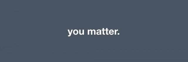 meme that says you matter