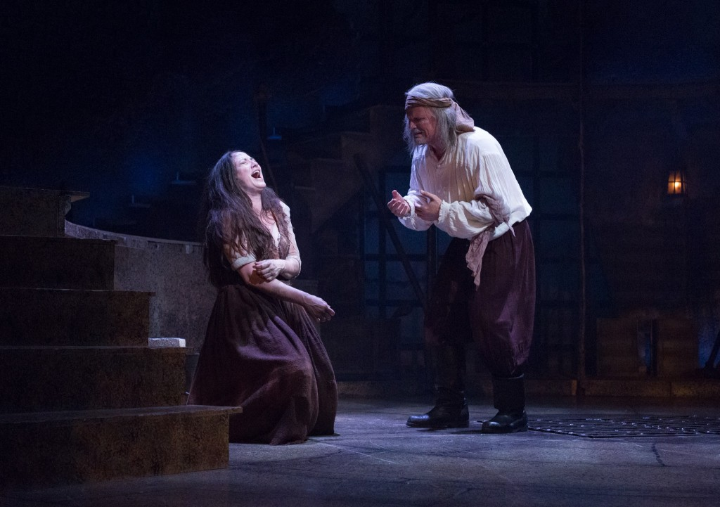 Tamra Hayden and Robert Newman in Man of La Mancha.