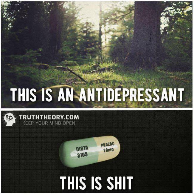 13325591_10209566514264666_8125233014692260987_n response to 'this is an antidepressant, this is shit' meme the,Depression Chronic Illness Memes