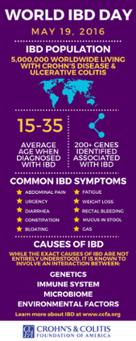 world ibd day infographic