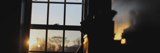 sun outside window