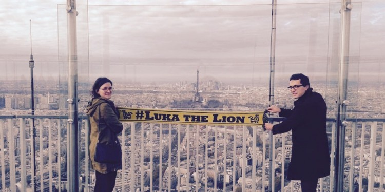 Luka the Lion supporters